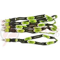 Breloc Merida negru/verde 25 mm