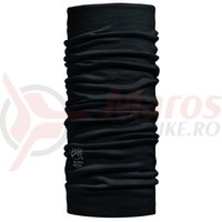 Buff Lightweight Wool Solid Black