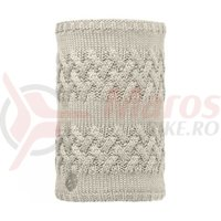 Buff Neckwarmer AD Knitted&Polar Savva Cream / Grey Vigore