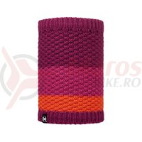 Buff Neckwarmer AD Knitted&Polar Tizzy Pink Cerisse