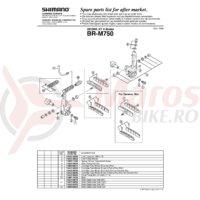 Burduf Shimano BR-M750 #8BP 1410