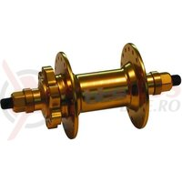 Butuc fata cu disc BTS HC Pro 3/8x100x150mm auriu 36h