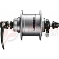 Butuc fata dinam Shimano DH-T4050 100mm, 36 hole, CL,1,5 W sil.SNSP
