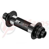 Butuc fata DT Swiss 350 MTB disc brake 150/15mm TA Boost, Centerlock, 32 holes