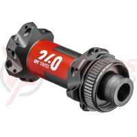 Butuc fata DT Swiss240 Road DB Straightpull 100mm/12mm TA, 24 holes