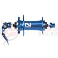 Butuc fata Novatec D791SB/A (4 in 1) 32h disc albastru anodizat