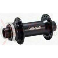 Butuc fata Quanta T55F, alu, 32H, ax M15x110x110mm, rulmenti, frana disc Center lock, negru