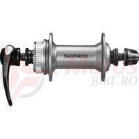 Butuc fata Shimano Alivio HB 4050 100mm,32H, silver, Centerlock, QR