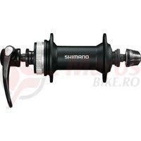 Butuc fata Shimano Alivio HB 4050 100mm,32H, black, Centerlock, QR