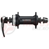 Butuc fata Shimano Alivio HB-M4050 36h QR Center lock Negru