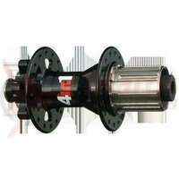 Butuc Spate Alu - Novatec D882SB-12-SS, 142, 32H, DISC, 4in1, fara ax bolton, alb