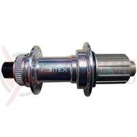 Butuc spate Bitex BX106 28H M12x142mm Center lock 11pinioane argintiu