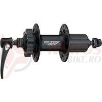 Butuc spate Shimano Deore XT FH-M756A 32H 8/9v old 135mm ax 146mm QR 168mm 6 suruburi negru