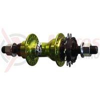Butuc spate single speed Novatec F176-14 36h verde