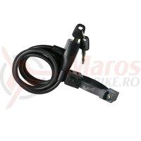 Lacat AXA Resolute 180/8 lungime 180cm 8mm black