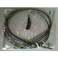 Cablu de frana set Shimano XTR Camasa 5mm 800mm X1 /1400mm X1