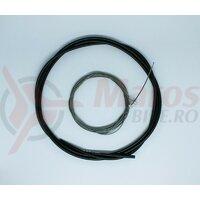 Cablu de schimbator set Shimano Road Optislick pt. R7000, incl. OT-RS900, negru
