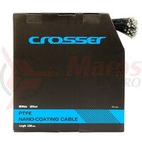 Cablu frana Nano CROSSER 7*7*1.5mm 2200mm - 1 buc - Negru