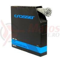 Cablu frana Nano CROSSER 7*7*1.5mm 2200mm - 1buc - Alb