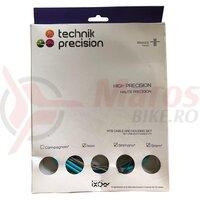 Cablu frana + Camasa IXOW Precision (Mtb) - Albastru