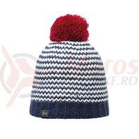 Caciula Buff Knitted&Polar Dorn Navy