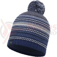 Caciula Buff Knitted&Polar Neper Blue Ink