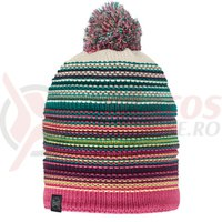 Caciula Buff Knitted&Polar Neper magenta