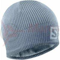 Caciula ski unisex Salomon Logo Beanie Bleu