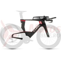 Cadru Cube Aerium C:68 Rahmenset Low Carbon/Red 2019