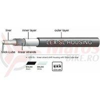 Camasa bowden schimbator Jagwire (BHL205) LEX-SL Slick-Lube, alba, diametru 4mm
