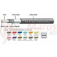 Camasa bowden schimbator Jagwire (ZHB708) LEX-Slick-Lube, carbon argintiu, diametru 4,5mm