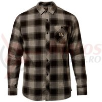Camasa Fox Longview Ltwt Flannel HTR graph