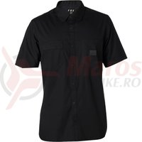 Camasa Fox Redplate Flexair Work Shirt black