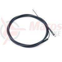Camasa si cablu frana BMX Eclat The Core neagra