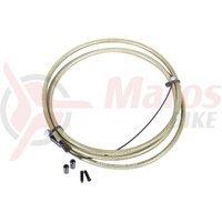 Camasa si cablu frana BMX Eclat The Core transparenta