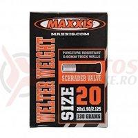 Camera 20X1.90/2.125 SV Maxxis Welterweight 0.9mm Schrader