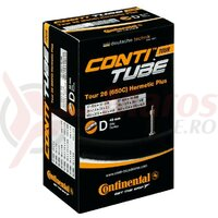 Camera Continental Tour 26 Hermetic Plus 26x1 1/8-1.75 37/47-559/597,AV 40mm