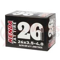 Camera Fat Bike Kenda 26*3.5-4 1mm AV