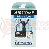 Camera - MICHELIN, 622 (700)x18/23, FV - 60, ultralight, 79g.