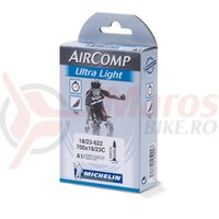 Camera Michelin Aircomp Ultralight A1 presta 52 mm 700x18/23C