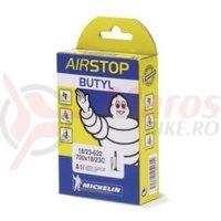 Camera Michelin Airstop C4 26x1.6/2.1 auto 34 mm