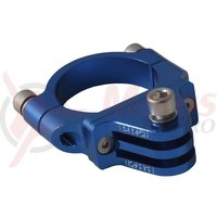 Camera mount PRO for handlebar 31.8mm blue