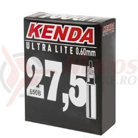 Camera ultralite 27.5/650Bx1.9-2.125 FV/48 mm 149 grame Kenda