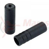 Cap bowden schimbator Jagwire(BOT115-4F) plastic,negru,diametru 4mm 1buc