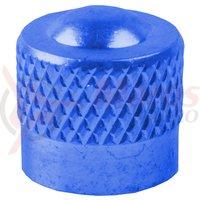 Cap valva M-Wave aluminiu albastru anodizat AV