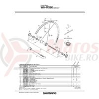 Capac Butuc Shimano Wh-rs80-f