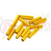 Capac cablu 5mm HJ-PX004, gold, 1 buc
