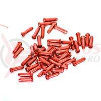 Capac cablu aluminiu 2.4mm HJ-D1001, rosu 1 buc