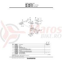 Capac rezervor Shimano BL-M775 Deore XT Lid