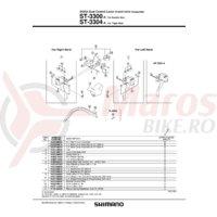 Capac Shimano ST-3300